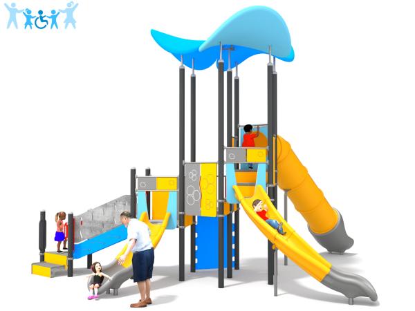 Spielanlage Towy 1 blau