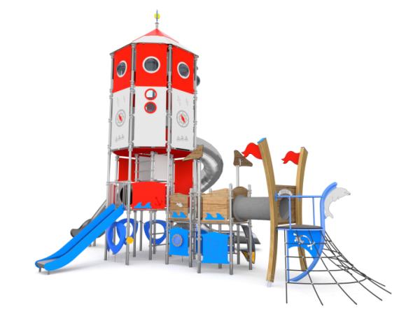 Spielturm - Poseidon