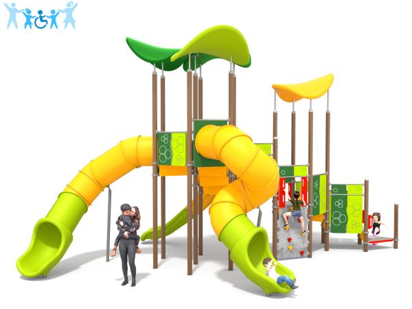 Spielanlage Sway 1 grün