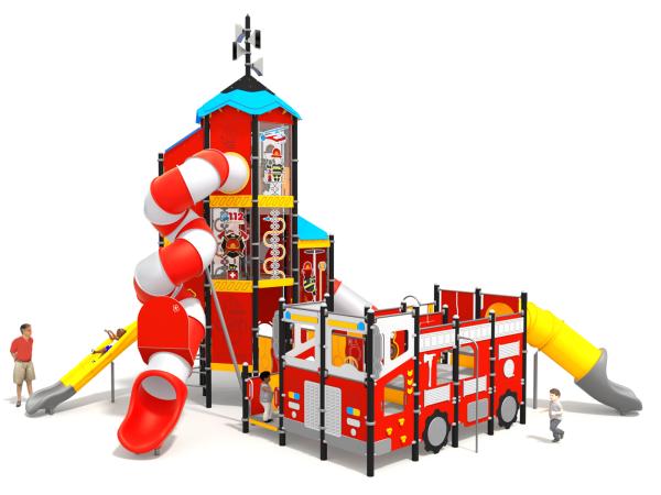 Spielturm Firehouse - 1402