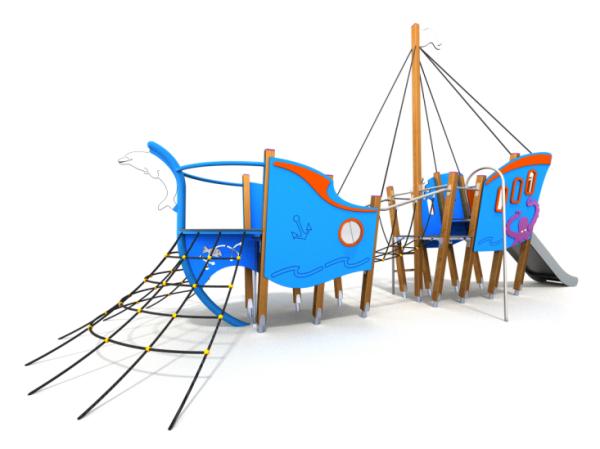 Spielschiff Blaubär
