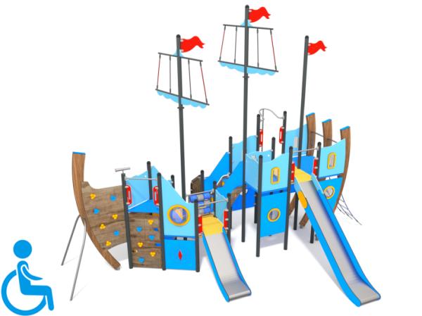 Spielschiff Hook