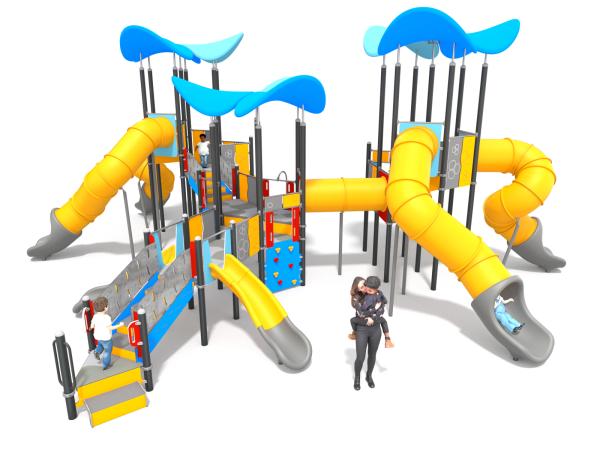 Spielanlage Barrilu blau 1