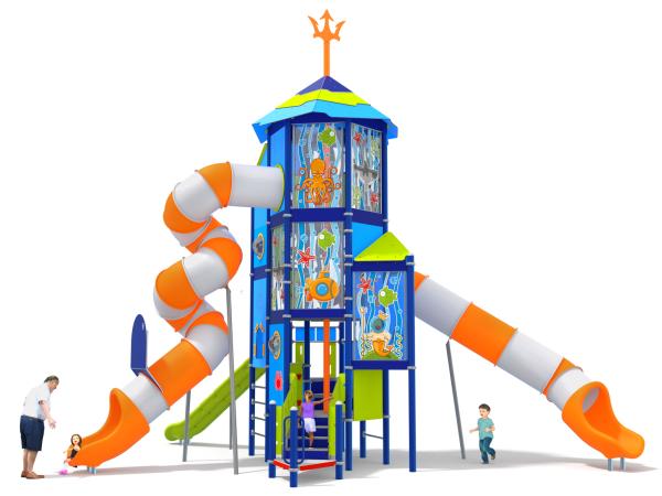 Spielturm - Aqualand
