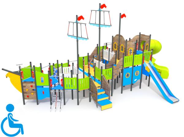Spielschiff Atlantis